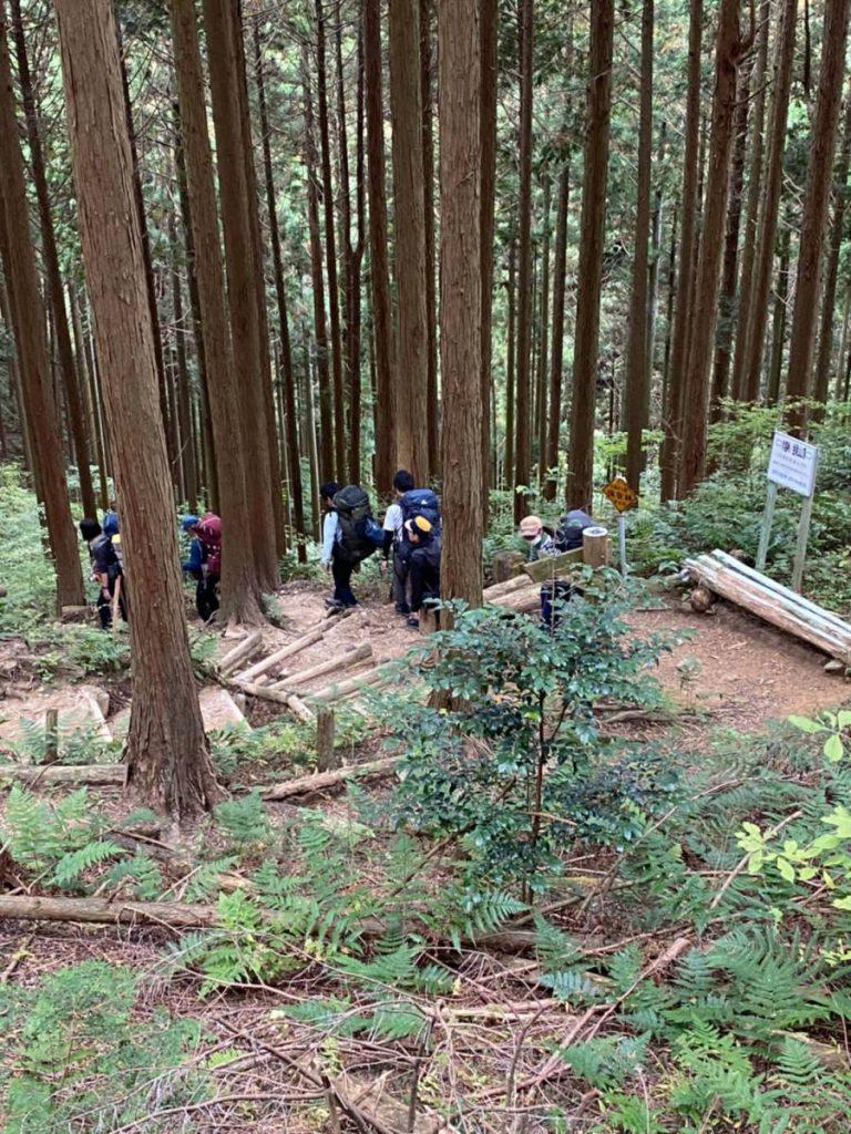 2020年初級登山学校 【縦走登山2日目】