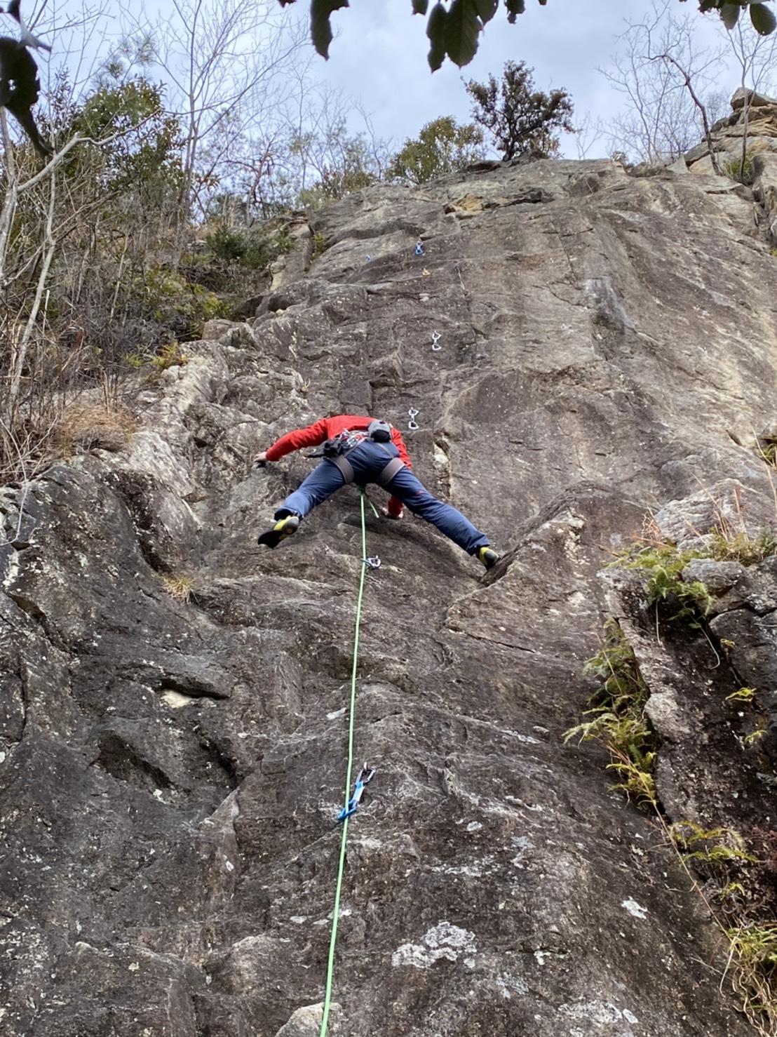 不動岩シアタークライミング