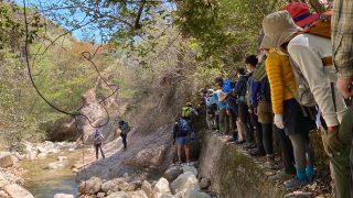 2021年初級登山学校実技 【歩行訓練】