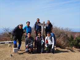 福井県 野坂岳(雪山)