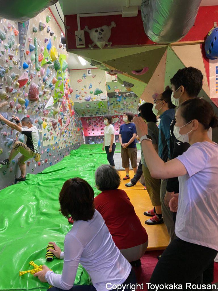 2021年 初級登山学校実技 室内外クライミング