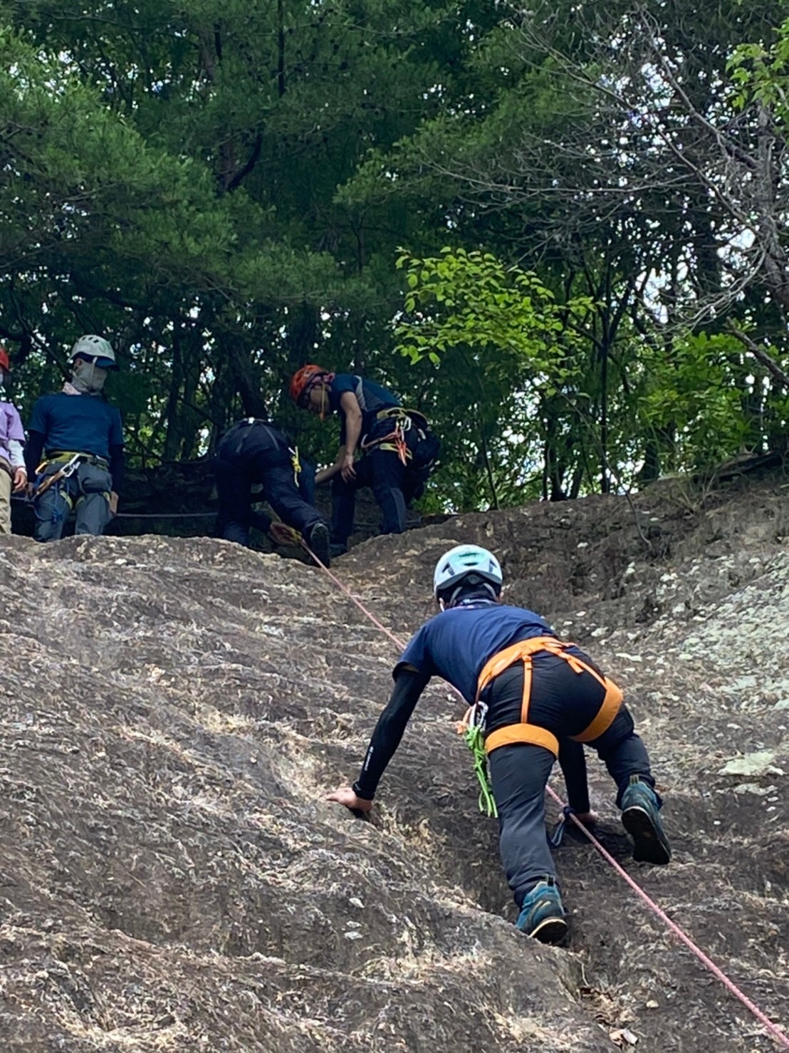 2021年 初級登山学校実技 【岩登り】